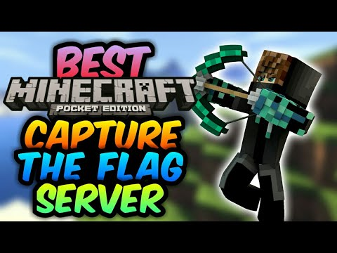 ✔BEST MCPE CAPTURE THE FLAG MAP | 1.2+ Servers | iOS & Android Download | Minecraft Pe