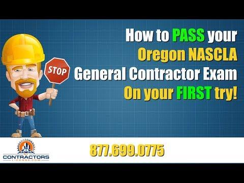 Oregon General Contractor Exam Prep Course 🔨 🔨