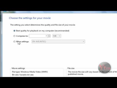 How To Make Your Videos HD Using Windows Movie Maker (Vista)