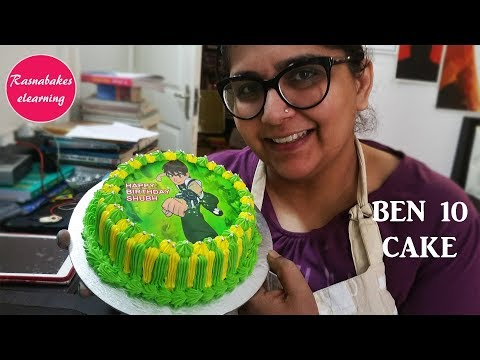 Free Cake Decorating Tutorial:Ben 10 cake