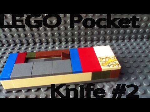 Lego pocket knife #2