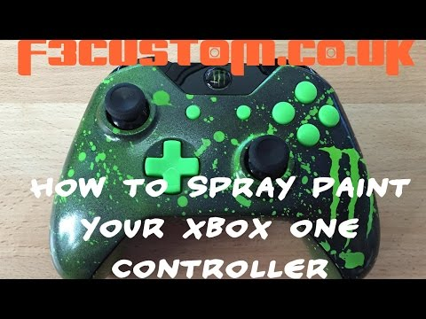 How to Spray Paint Your Xbox One Controller Part 1 By F3custom.co.uk