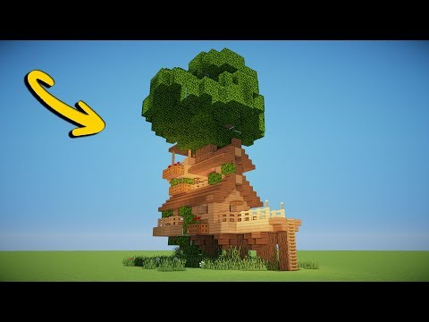 AWESOME TREE HOUSE - Minecraft Tutorial