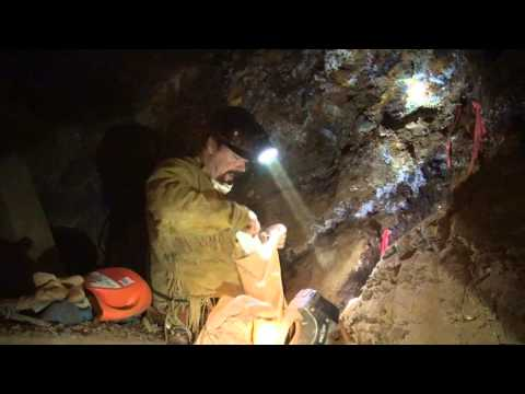 SAMPLING FOR GOLD !!!! How to Find Gold In Old Mines... ask Jeff Williams