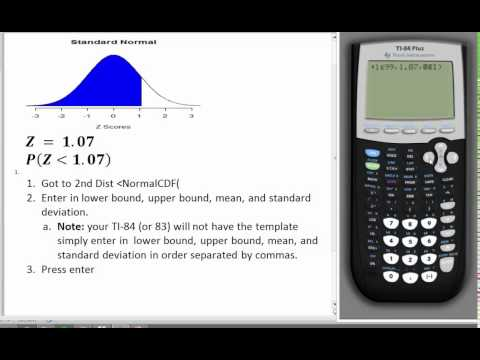 How to find a proportion on TI84 using Normal CDF Command