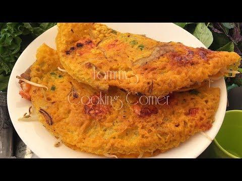 Bánh Xèo Giòn Tan - Vietnamese Crepe - Cách làm bánh xèo ngon tuyệt