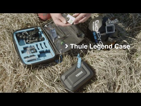 Rope Swing B.A.S.E. jump – Matthias Giraud and Thule Legend Cases