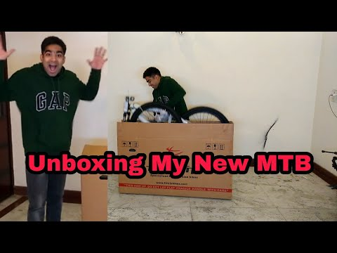 How to UNBOX Bicycle Purchased Online? Did I Purchase New MTB ? | Buying Bicycle Online