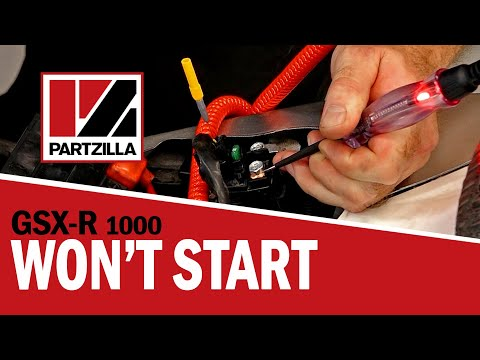 GSXR 1000 Won't Start Troubleshooting | Partzilla.com