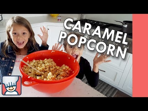 How to make caramel popcorn