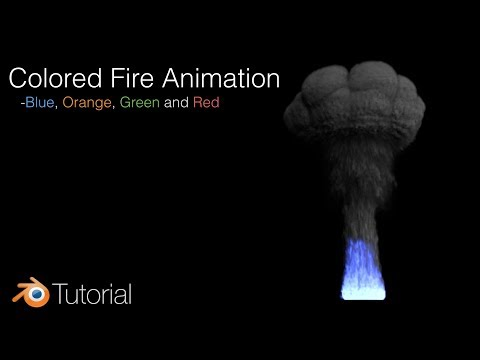 Blender Tutorial: Flame Animation with Different Colors