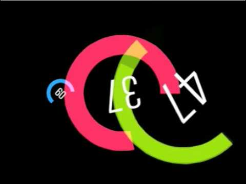 Ben Stevens: ColourClock Flash screensaver (2007)