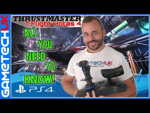 Thrustmaster T-Flight Hotas 4 - All you need to know - Review and Opinions