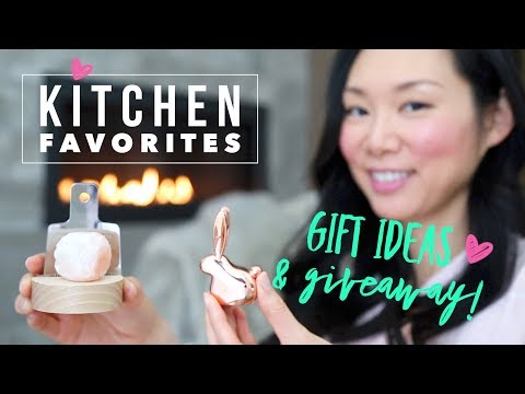 Kitchen Favorites ♥ Holiday Gift Ideas 2017 + GIVEAWAY!