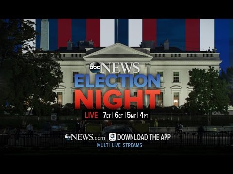 Presidential Election 2016 LIVE   ABC News FULL BROADCAST
