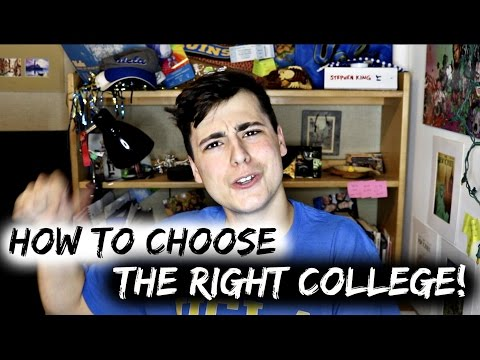 How to College: Choosing the Right School!