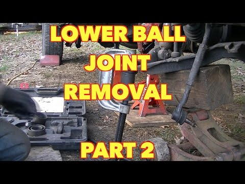 Front Lower Ball Joint Replacement....Ford, Expedition, Mountaineer, Explorer -PART 2