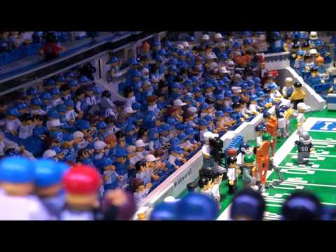 LEGO Colts Lucas Oil Stadium - Brickworld Ft. Wayne 2012