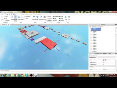 how to create an obby in roblox