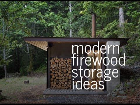 Modern Firewood Storage Ideas