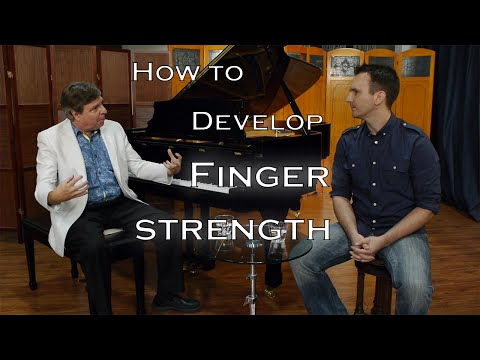 How to build finger strength for piano - with Robert Estrin!