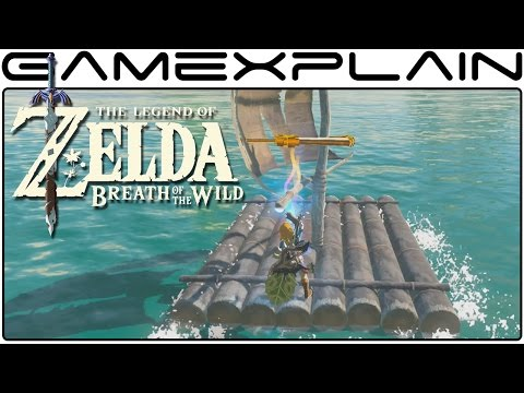 Turn a Sailboat into a Motorboat in Zelda: Breath of the Wild (Secret Trick)