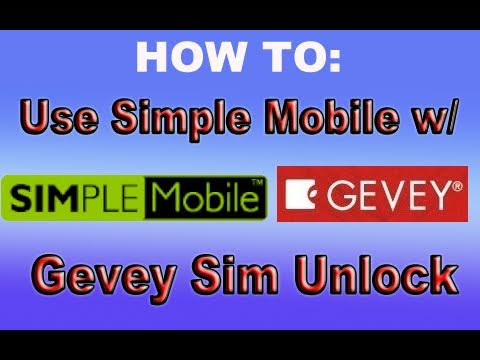 HOW TO: Use Simple Mobile with an Gevey Sim Unlocked iPhone