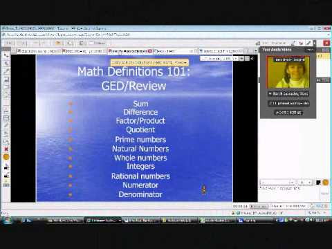 GED online classes.wmv