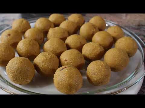 Besan Ke Ladoo | Vesan De Laddu | Indian Sweets Laddoo | Ladu