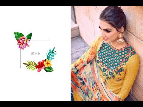 Latest Indian Salwar Kameez Collection 2017 || Jinaam Dress pvt.ltd || Jinaam Eva Plazzo