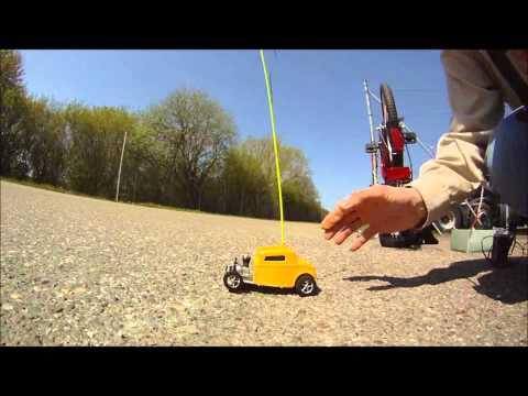 Smallest nitro powered RC-Car