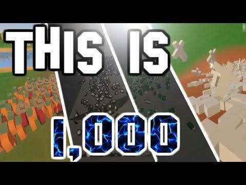 SPAWNING 1,000 OF EVERYTHING! (Unturned)
