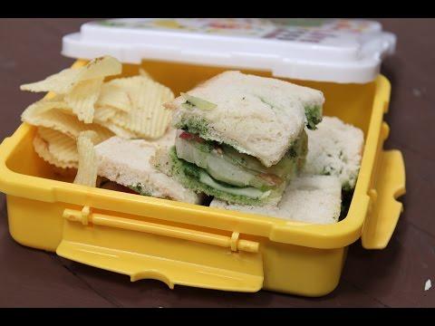 Bombay Sandwich | Tiffin Treats by Roopa Nabar | Sanjeev Kapoor Khazana