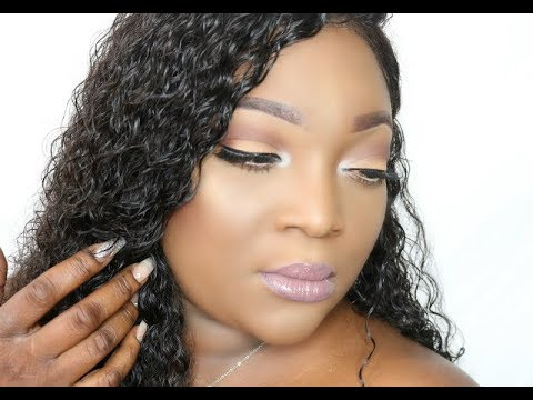 Bowin Hair $100 Virgin Brazilian Deep Curly Lacefront