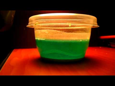 Reaction between copper II chloride and H2O2