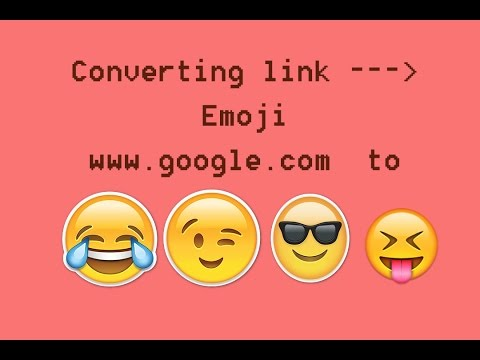 How to Convert any Link to Emoji