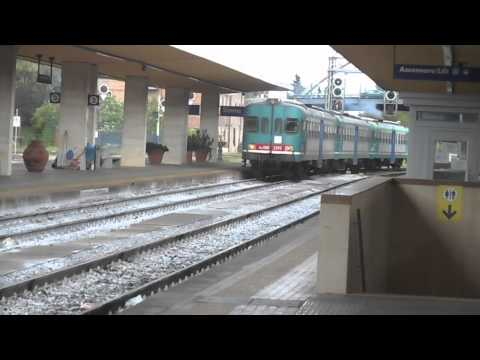 Trains at Siena Italy May 2015