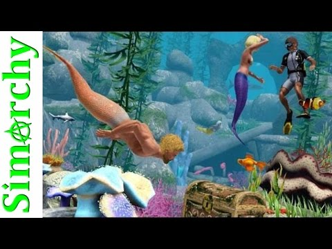 MERMAID POOL PARTY!!! The Sims 3 Let's Play Alice in Wonderland TEASER