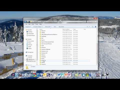 How to remove desktop popup notepad  at start up- windows 7