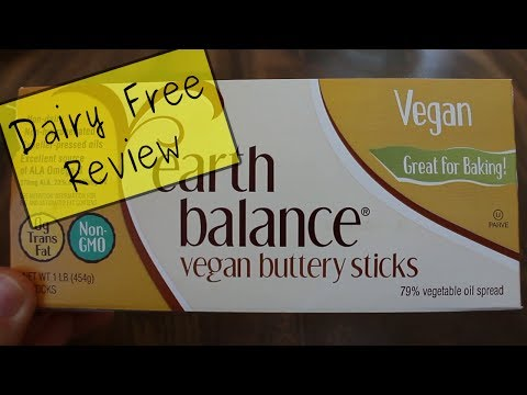 Dairy Free Review: Earth Balance Margarine