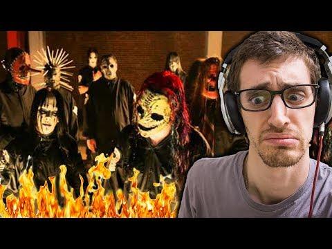Slipknot - Psychosocial    HIP-HOP HEAD REACTS TO METAL!!!