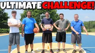 THE ULTIMATE BASKETBALL SKILLS MINI CHALLENGE WITH THE SQUAD!! WHOS THE BEST??