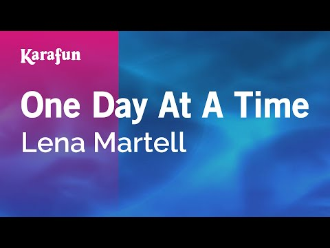 Karaoke One Day At A Time - Lena Martell *