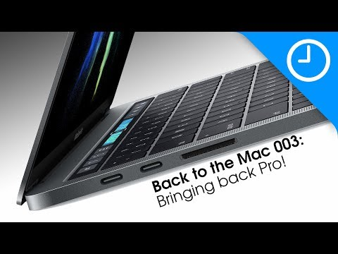 Back to the Mac 003: Bringing back pro! [9to5Mac]