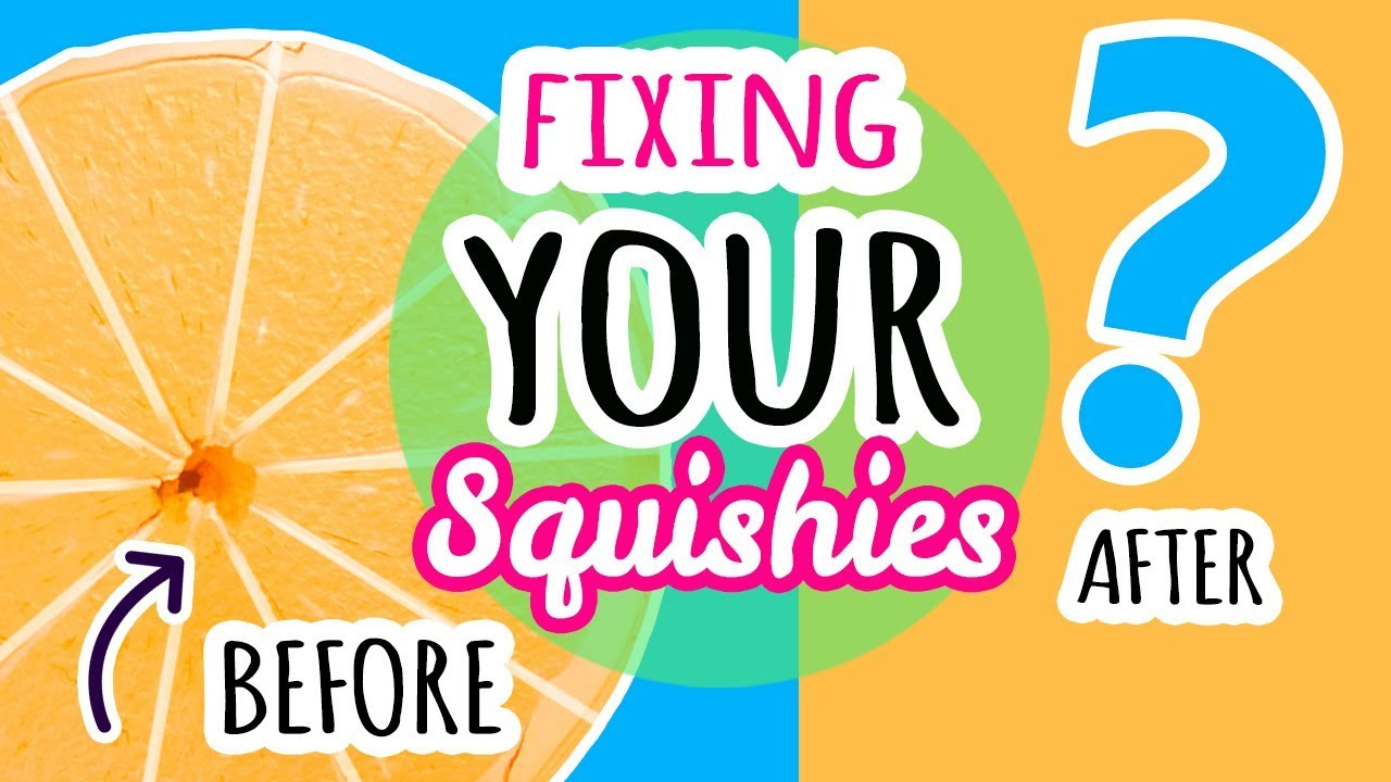 BIGGEST Squishy Makeover: Fixing Your Squishies #9