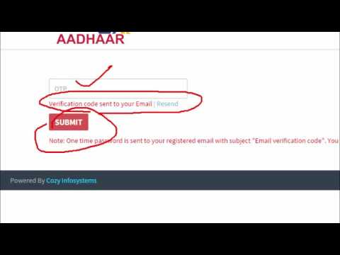 How to Apply for Aadhar PVC Plastic Card Online - Tamil Tutorials