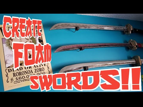 How to create a samurai sword out of EVA foam