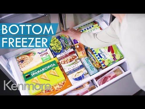 Kenmore Elite French Door Bottom-Freezer Refrigerator