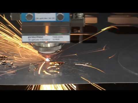 CPB-090060-150F Fiber Laser cut SUS 0.5mm 131sec