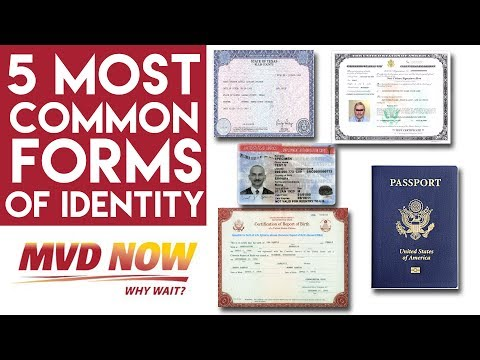 5 Most Common Forms Of Identity - Real ID NM